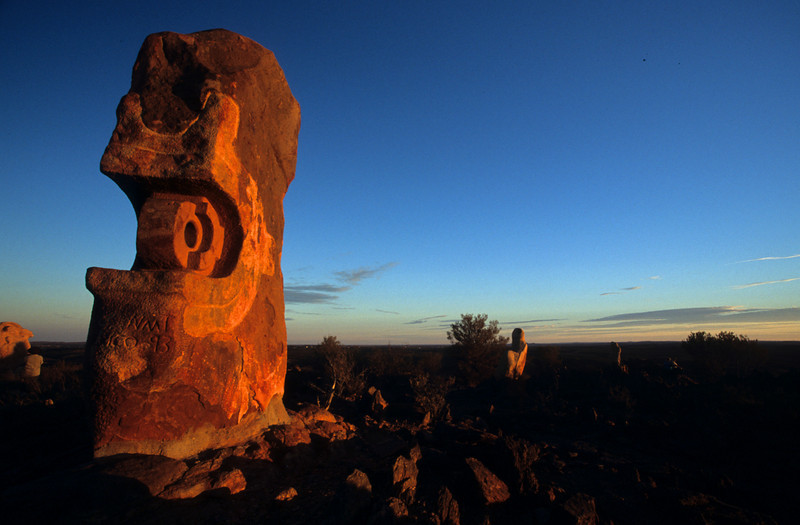 Art, Australia, Broken Hill, Landscape, Outback, Rock art Copyright Chris Collard - All rights reserved