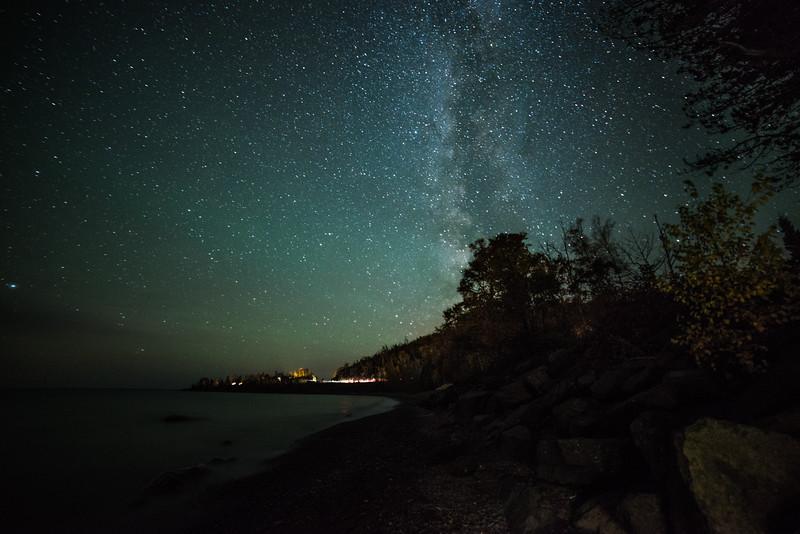 Milky Way Over Lake Superior - Minnesota, USA