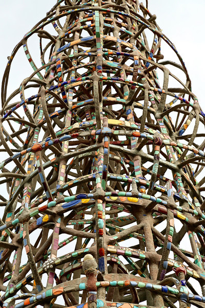 Watts Towers: Iron, Tile and Circles