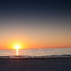 Sunset on St. Petersburg Beach, FL and inspiration for Life through the lens photography