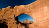 A classic shot looking through South Arch to Turret Arch and beyond.