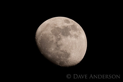 The Moon as seen through Minolta 500 f8 mirror lens on Sony a900. Hard to choose the best of these two(2 of 2)