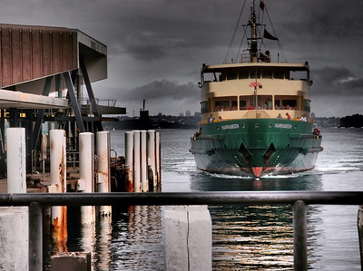 The Manly Ferry ...