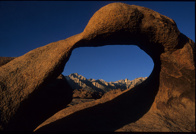 arches, Bishop, California, Landscape, Owens Valley, Mount Whitney Copyright Chris Collard - All rights reserved