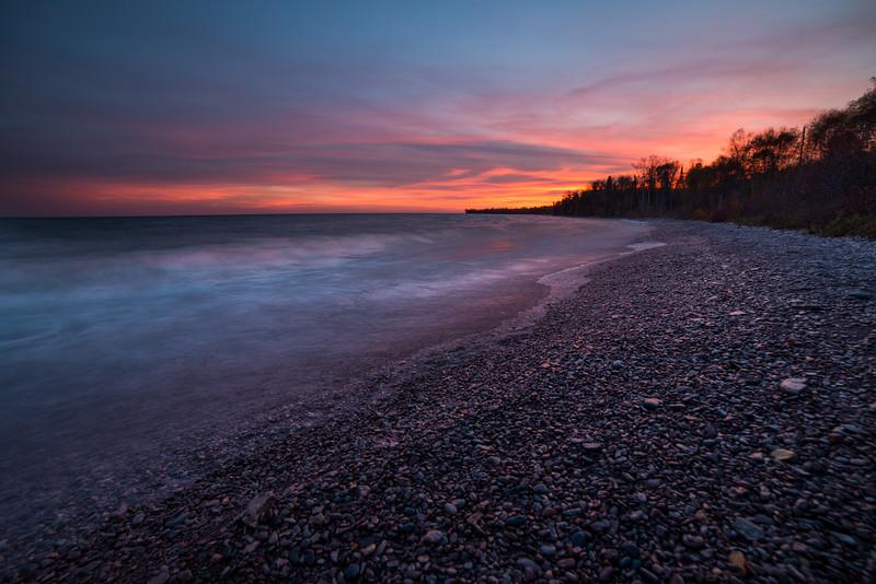 Lake Superior Sunset - Minnesota, USA