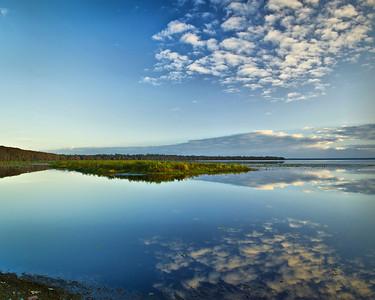Reflections of Lake Newnan Lake Newnan Gainesville, Florida © 2011