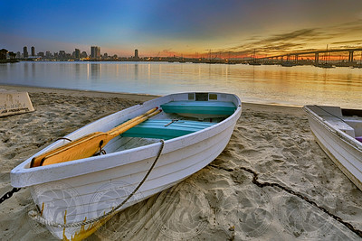 Sunrise @ the Dinghy Landing Coronado, CA