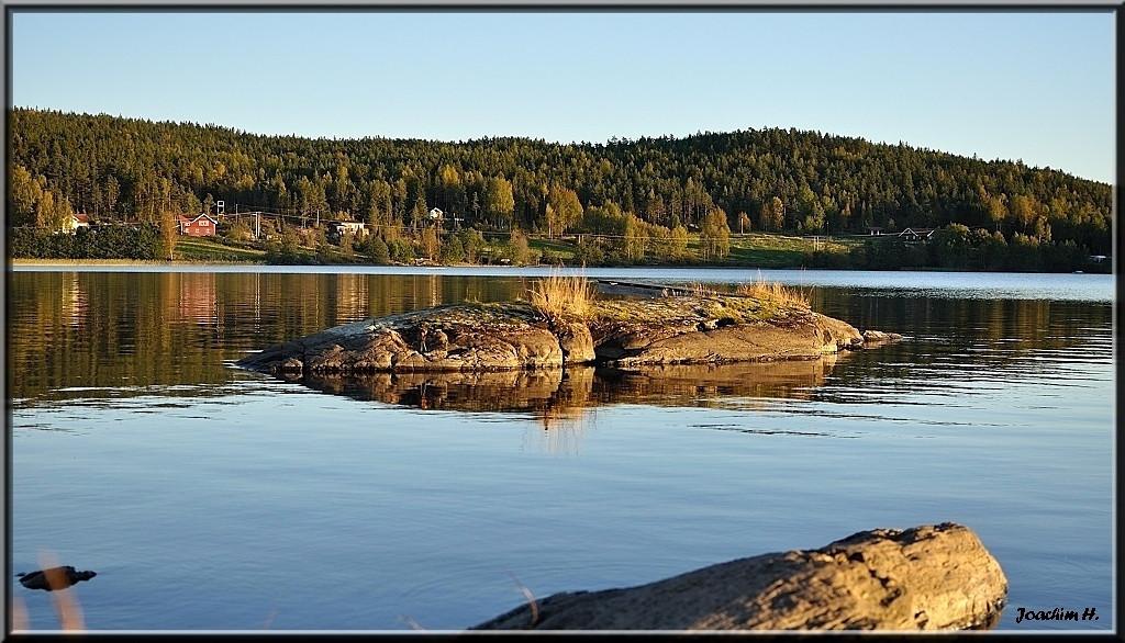 Fin sommerkveld ved Femsjøen