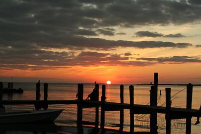 Sunset Over Key Largo