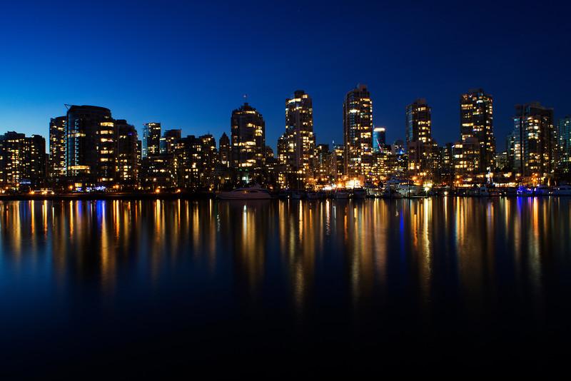 False Creek Vancouver BC Canada