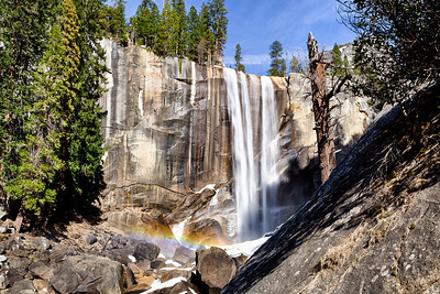 Vernal Falls With a Little Bow