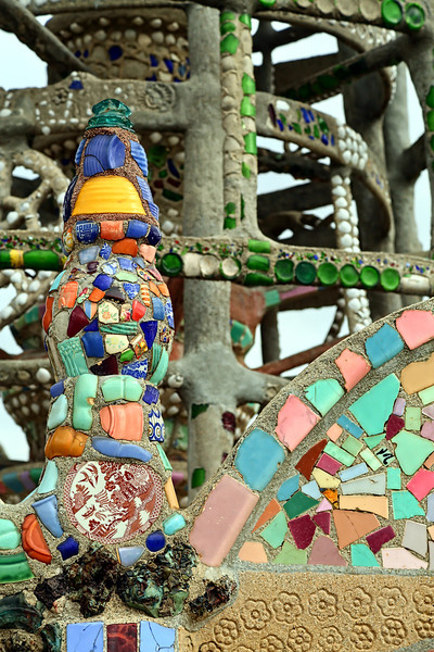 Watts Towers: Fiestaware