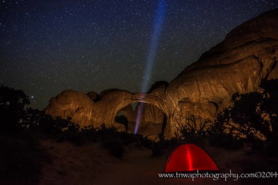 Find What You're Looking For Double Arch Arches National Park, Utah © 2014