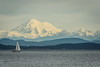 Mount Baker from Cattle Point