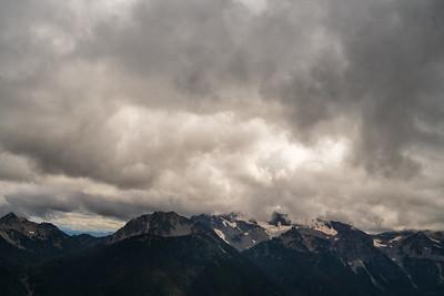 Landscape: Storm Front, Mt Rainier | Mt. Rainier National Park