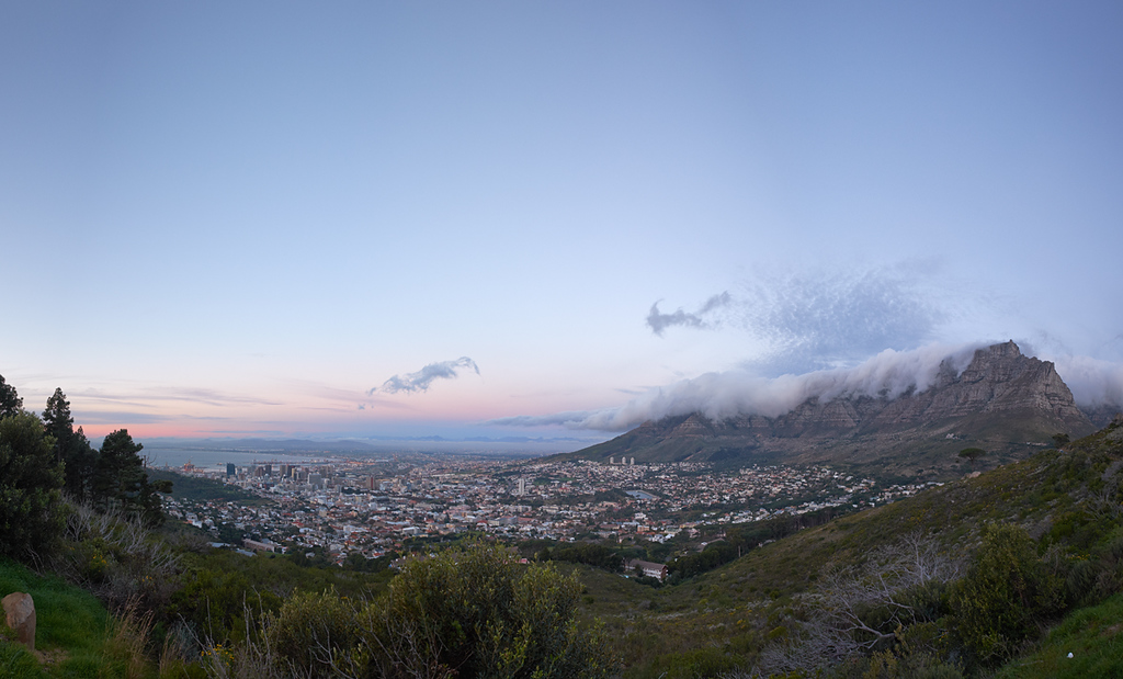 Cape Town at Sunset