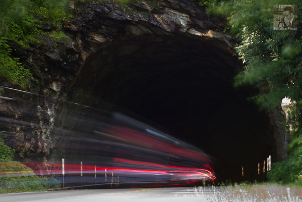 Into the Void - Twin Tunnels, Blue Ridge Parkway, NC