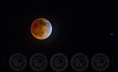 Blood Moon over Alpine CA