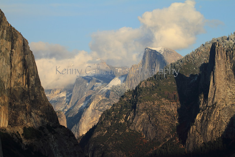 Yosemite After First Snow
