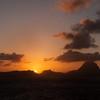 Sunrise over Bora Bora