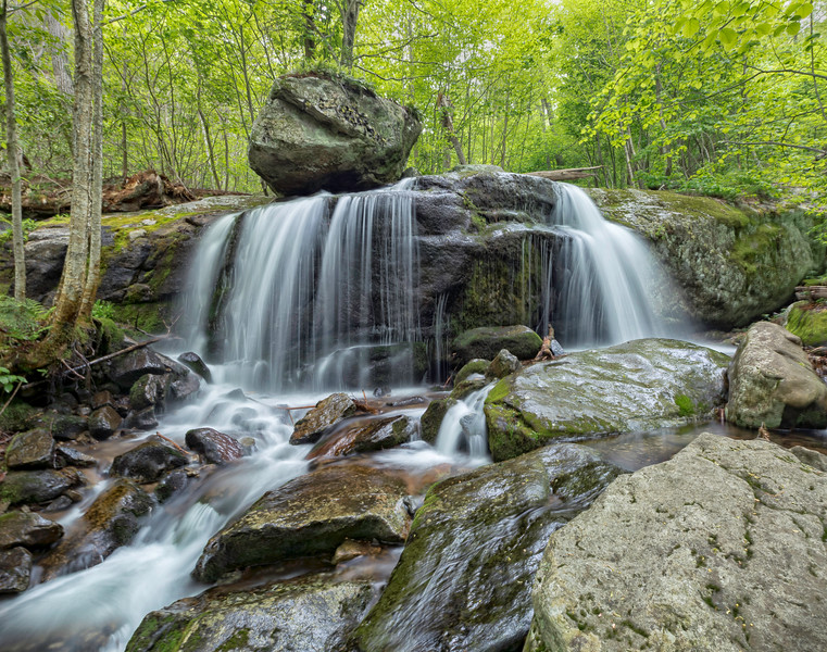 Apple Orchard Falls, Blue Ridge Parkway, Virginia