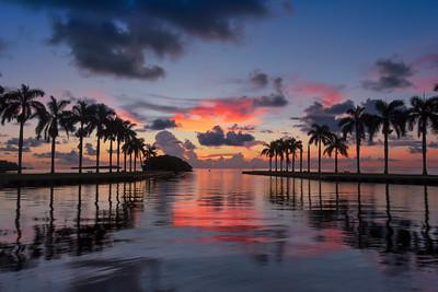 Sunrise at Deering Estate, Miami
