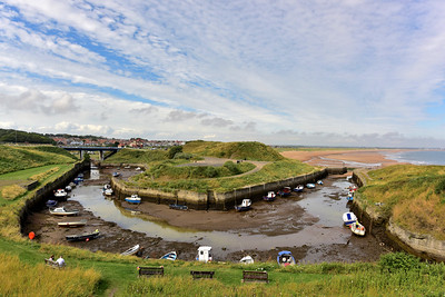 Seaton Sluice At Low Tide