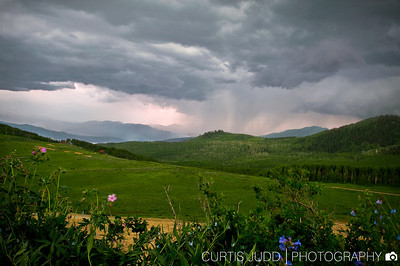 Guardsman Pass, Wasatch, Summer Storm-1