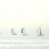 Spinnakers on Lake Michigan.