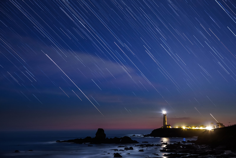 Startrails at Pigeon Point