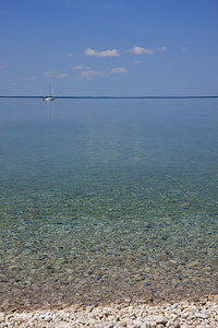 Horseshoe Bay from Mackinac Island, MI