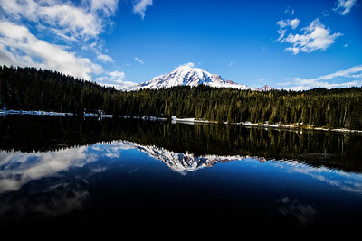Landscape: Reflection Lake | Mt. Rainier National Park