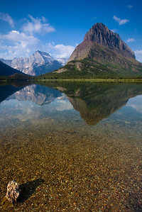Swiftcurrent Lake & Mt. Grinnell