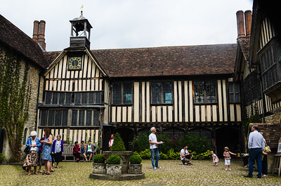 The Inside Cort Yard At Ightham Mote