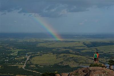 Mount Scott rainbow