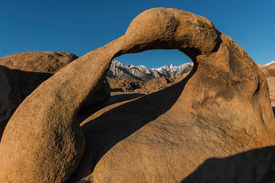 Window on Mt. Whitney