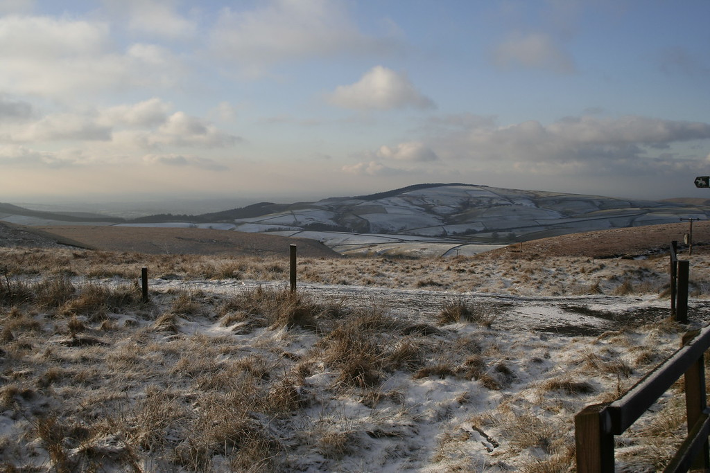 view from cat and fiddle pub