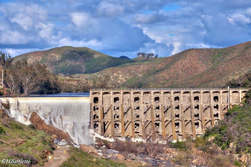 Lake Hodges Dam, Escondido, California