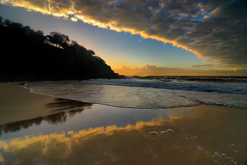Sunrise, Sunshine Beach, Queensland, Australia.
