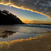 Sunrise, Sunshine Beach, Queensland, Australia.