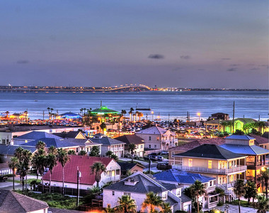 South Padre Island in HDR