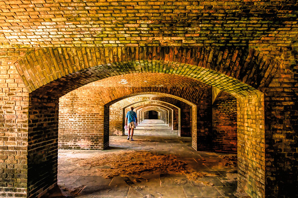 Fort Jefferson's Arches