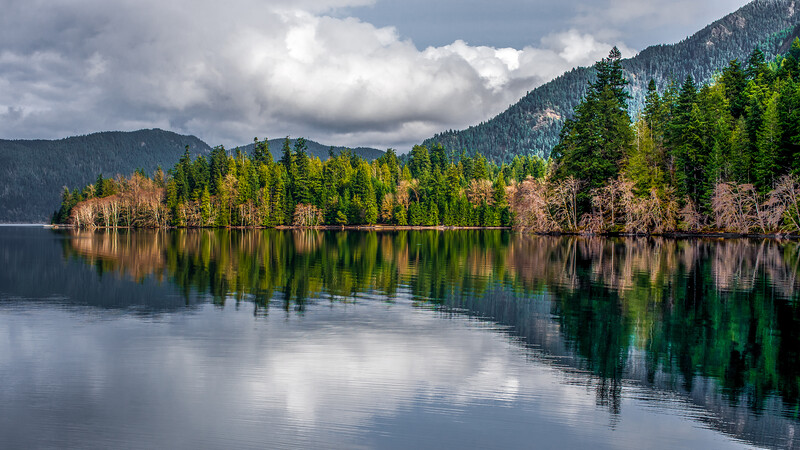 Lake Crescent, Olympic Peninsula