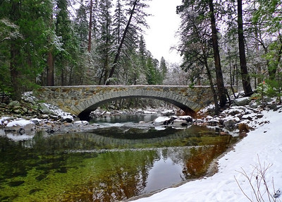 Bridge over the Merced River - Yosemite National Park