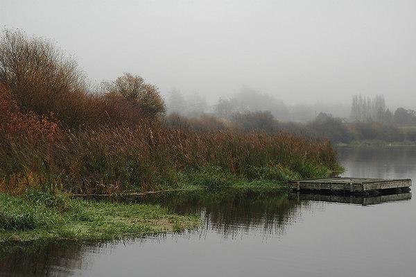 autumn swan lake dock 91