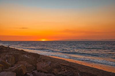 Sunset over the Salish Sea