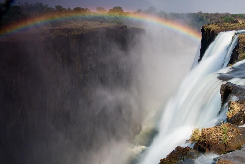 Africa, Batoka gorge, Chris Collard, Landscape, Livingstone, Rainbow, Victoria Falls, Waterfall, Zambezi River, Zambia, Zimbabwe Copyright Chris Collard - All rights reserved
