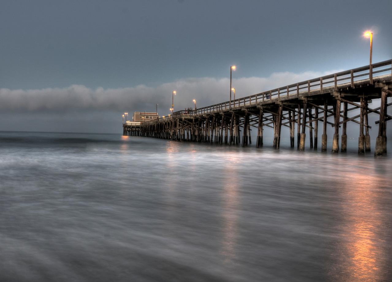 Newport Beach Pier HDR