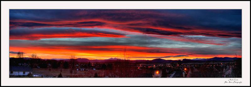 Longs Peak Sunset, 2007