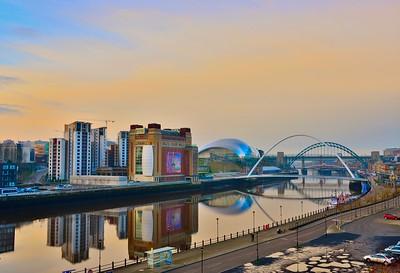 Early Morning Tyneside